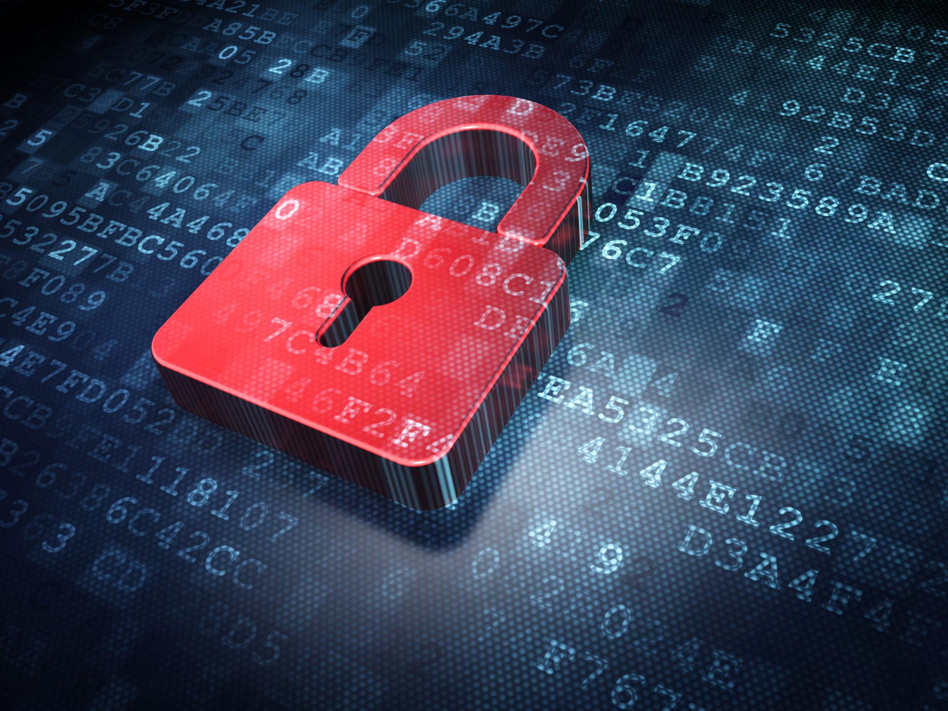 Schloss vor dem Hintergrund digitaler Zeichenketten, Beschreibt die Notwendigkeit für IT-Sicherheit und Datenschutz in der Immobilienbranche